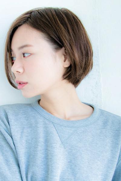 縮毛矯正 髪型 ショート